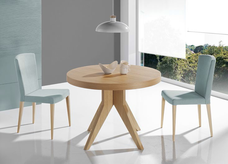 Mesas de comedor estilo moderno - Muebles Vallejo